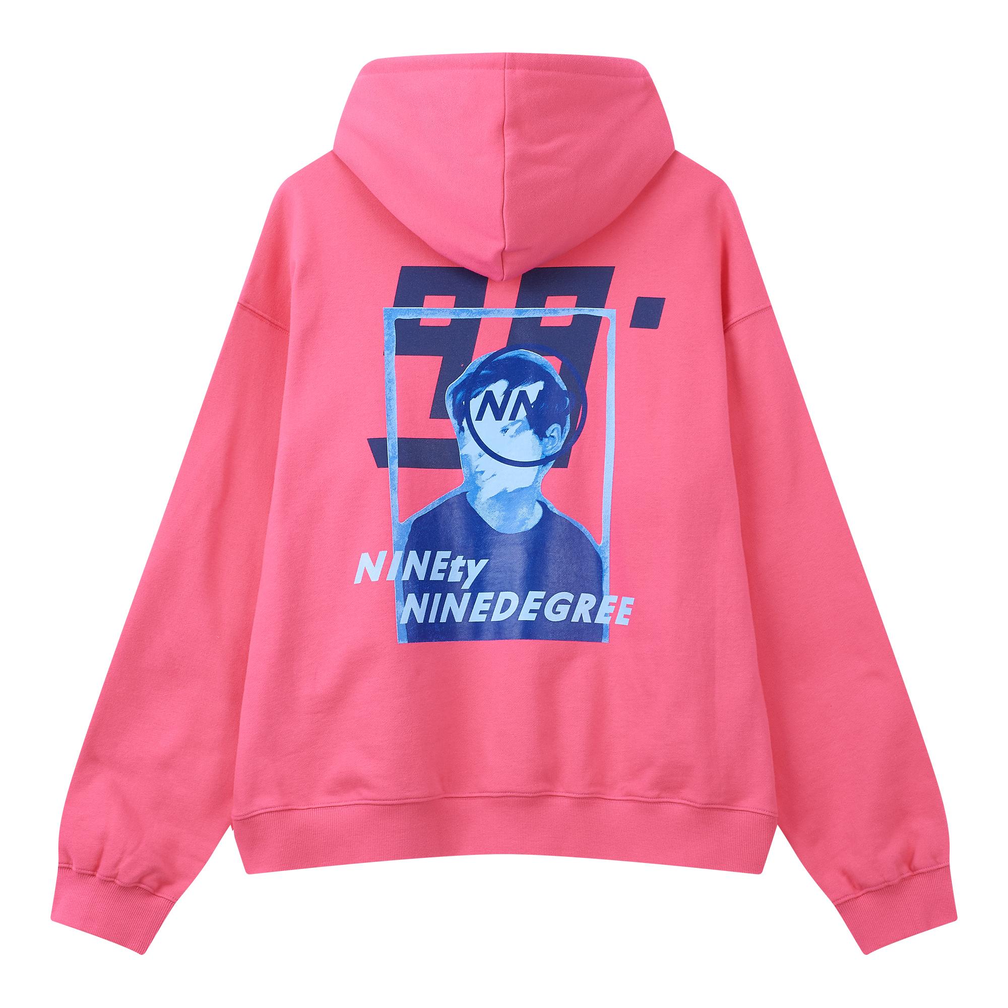 엔엔디(NND) 백 프린팅 기모 후드 티셔츠 9598416008064