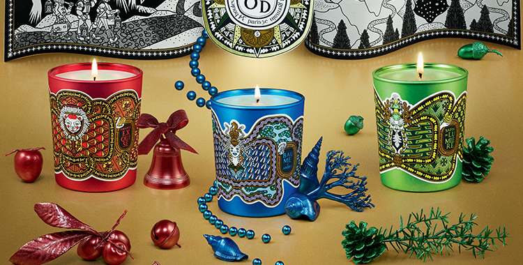 Diptyque 2018 Holiday Collection